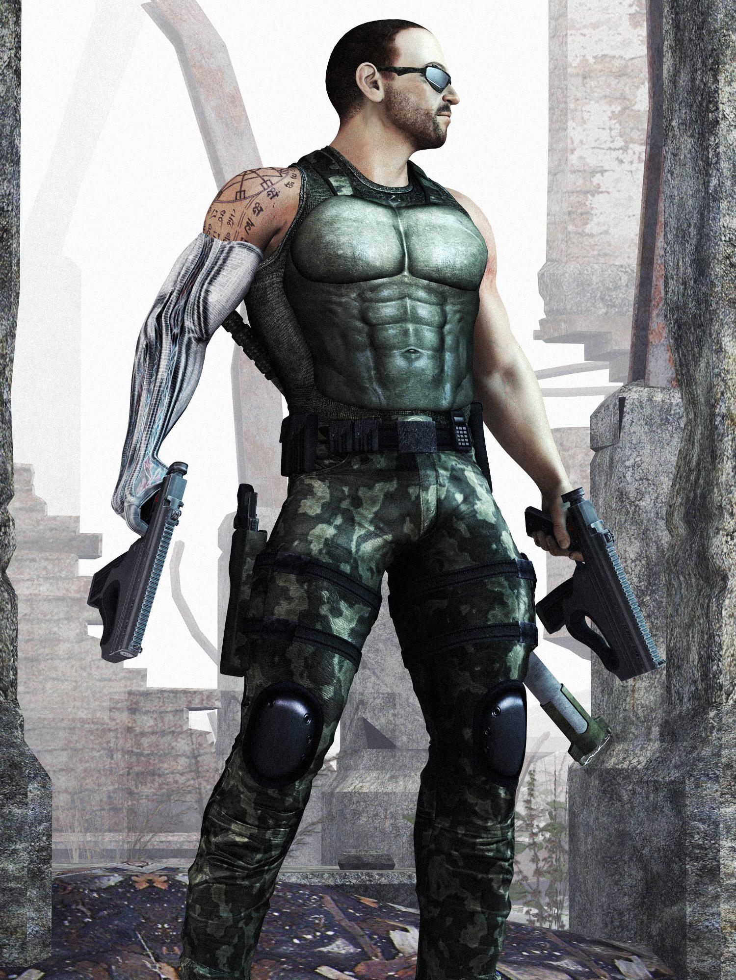 Urban Warrior by kjngrafix