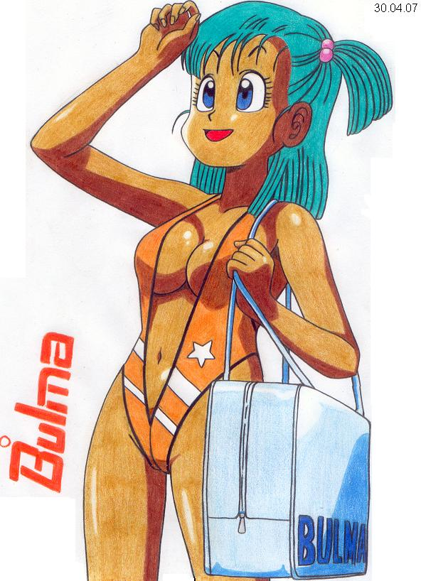 Bulma in Swimsuit 2 by Worson2009