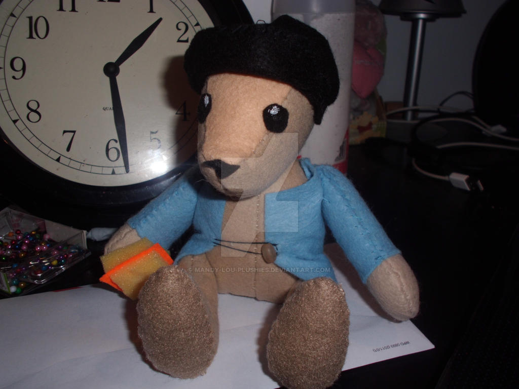 Paddington-ish plushie :) by Mandy-Lou-Plushies