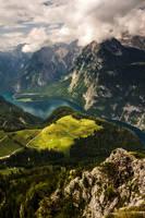mountain view III by stachelpferdchen