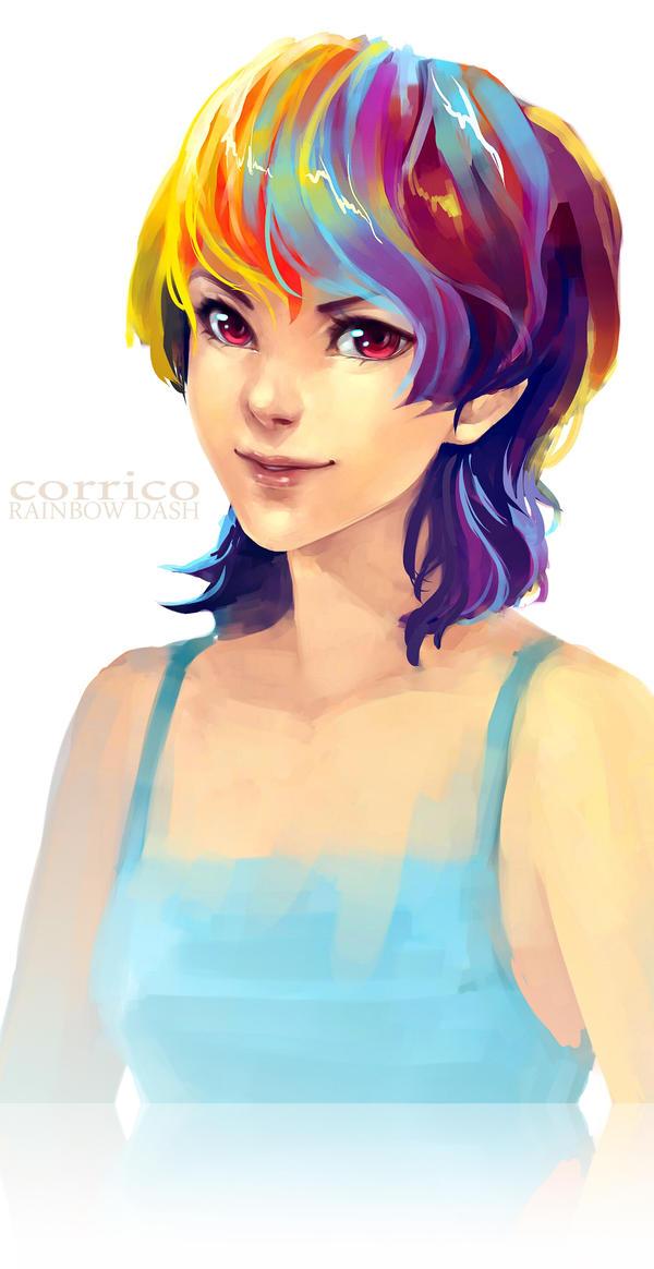Rainbow Dash by corrico