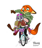 Hold on tight, Nick! by Frava8