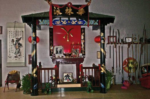 Wah Lum altar