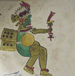 Tlaloc the rain god