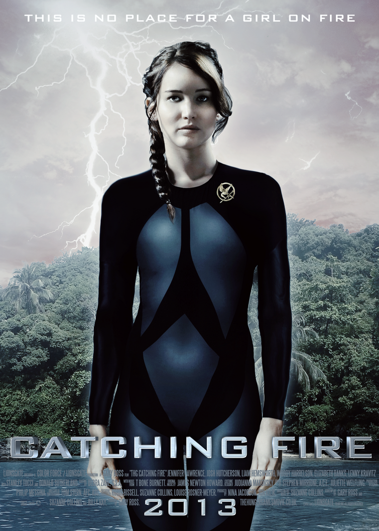 Catching Fire Poster - Katniss by lettish