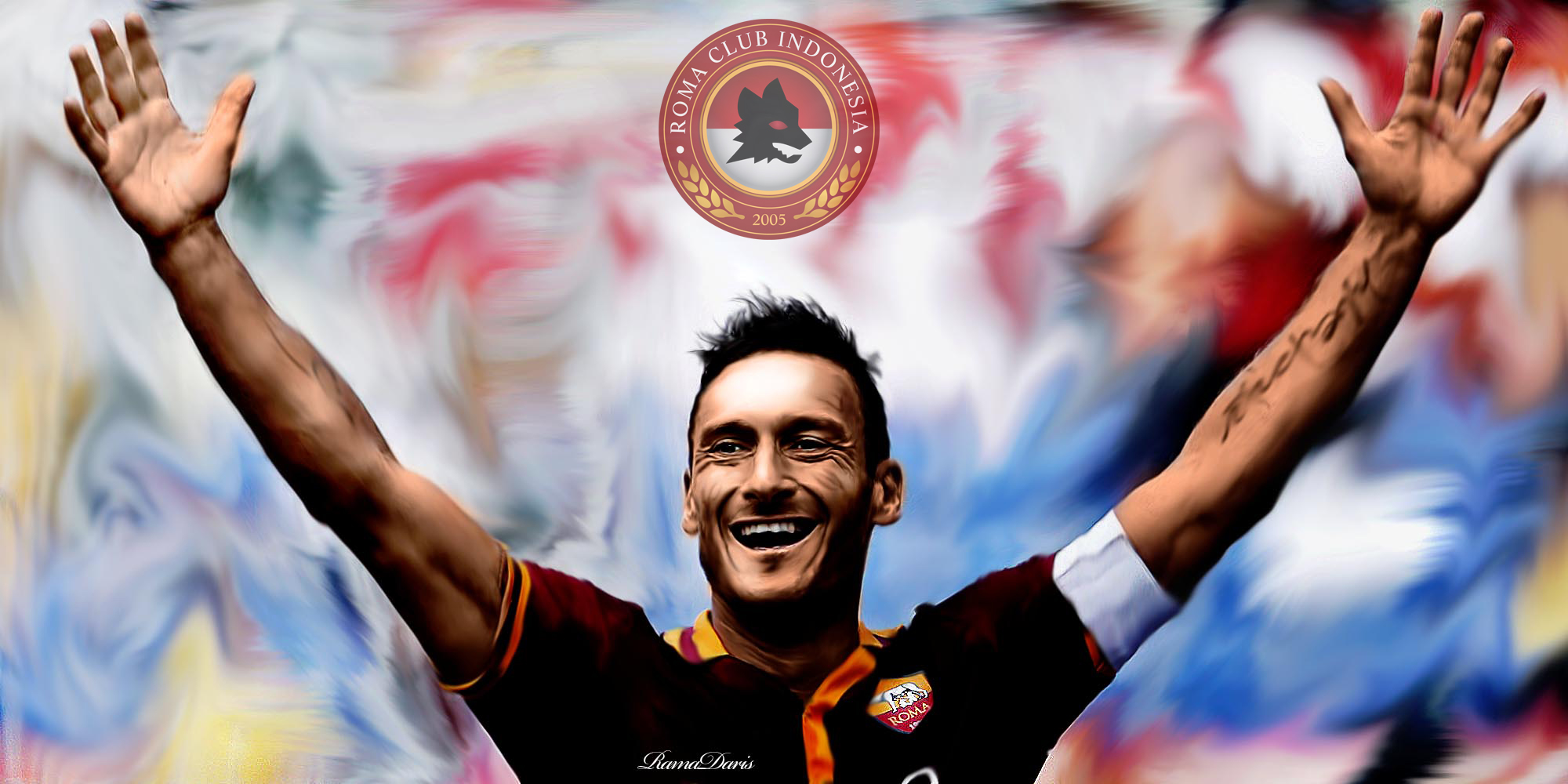 Francesco Totti by ramadaris on DeviantArt