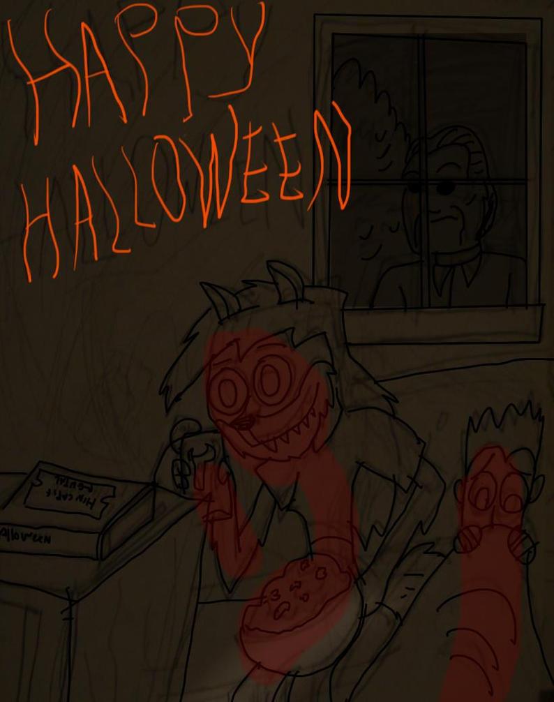 happy halloween by hincapi
