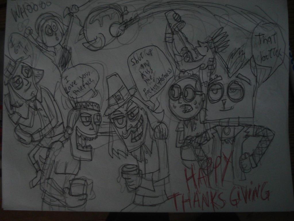 happy thanksgiving by HINCAPIE319