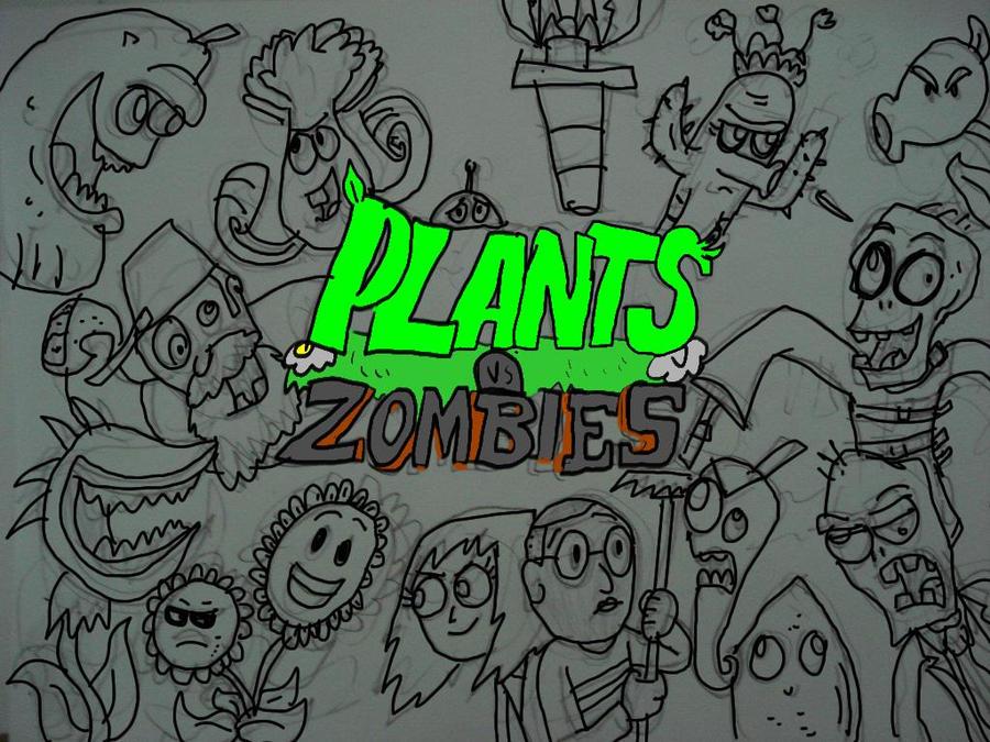 plants vs zombies the serie by hincapi