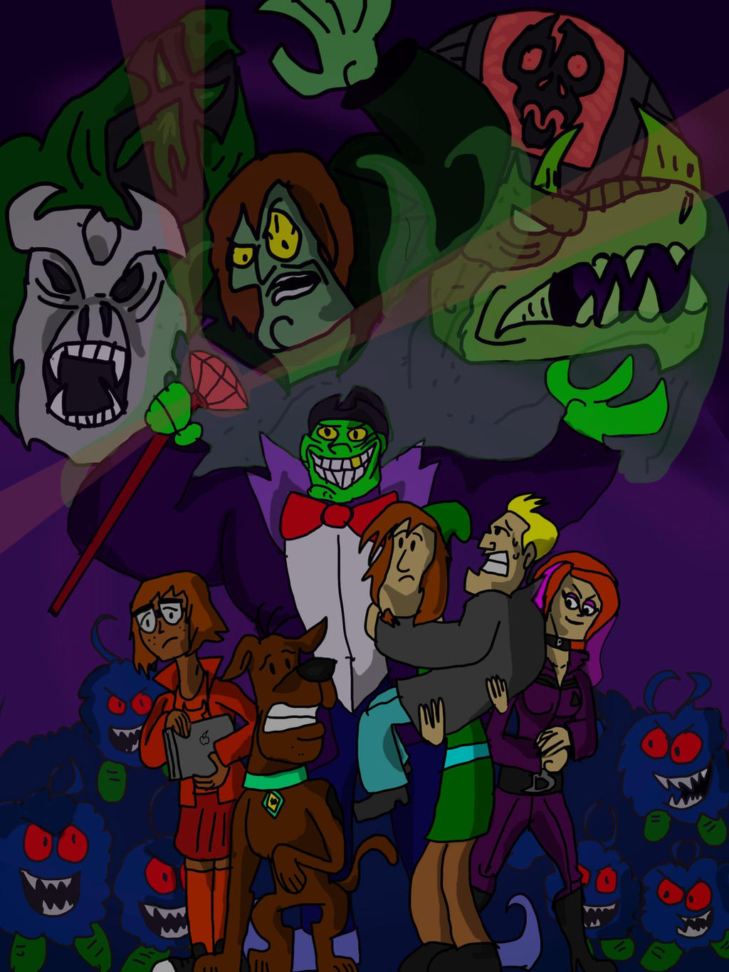 Scooby doo night of thousand frights by kickazzjohnni on - Scooby doo momie ...