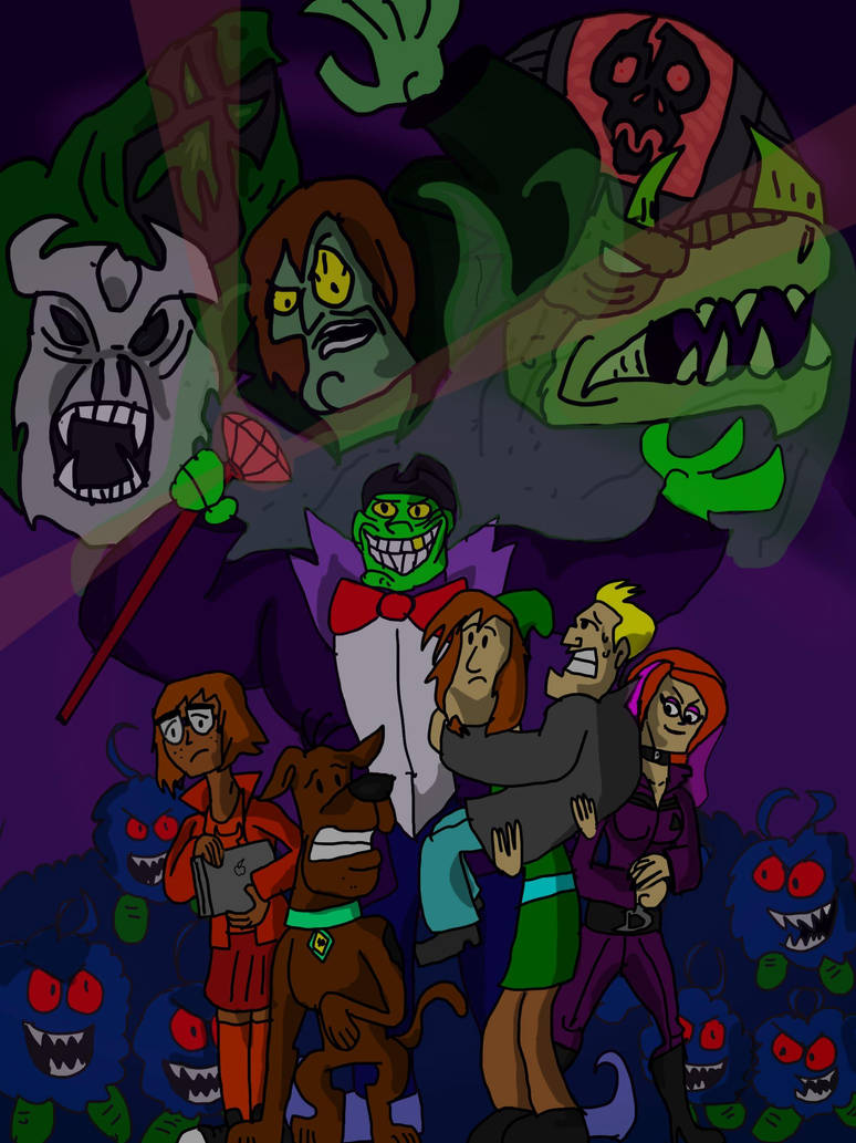 Scooby Doo Night Of Thousand Frights By Kickazzjohnni On Deviantart