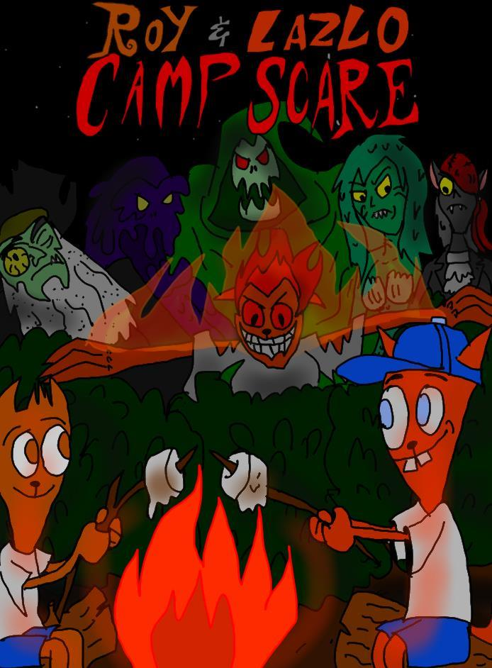 Roy And Lazlo Camp Scare: monsters unleashed by HINCAPIE319