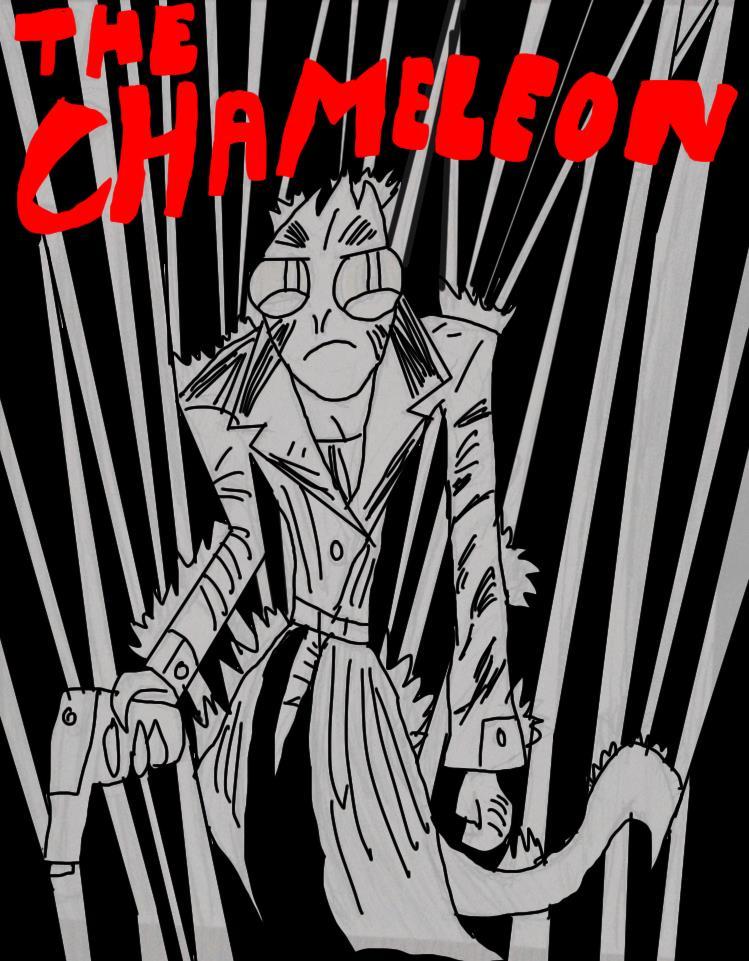 chameleon noir by HINCAPIE319