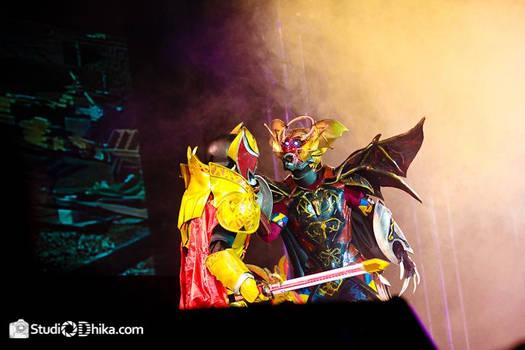 kiva Emperor vs King fangaire berserk mode