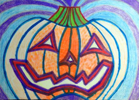 Pumpkin Colored In...