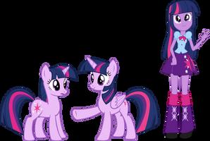 Palette Swap 8: Twilight Sparkle by QuanXaro