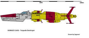 Isokaze class by zagoreni010
