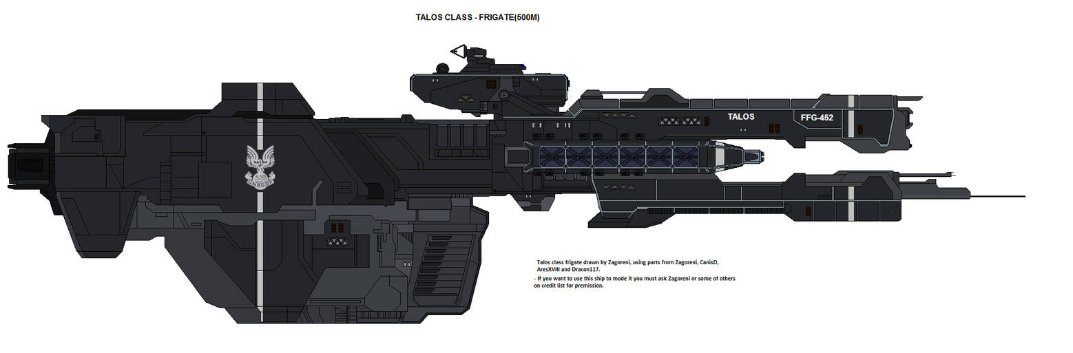 Talos class frigate by zagoreni010 on DeviantArt