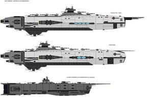 Amaterasu class - Dreadnought by zagoreni010