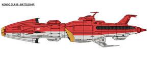 Kongo class battleship by zagoreni010