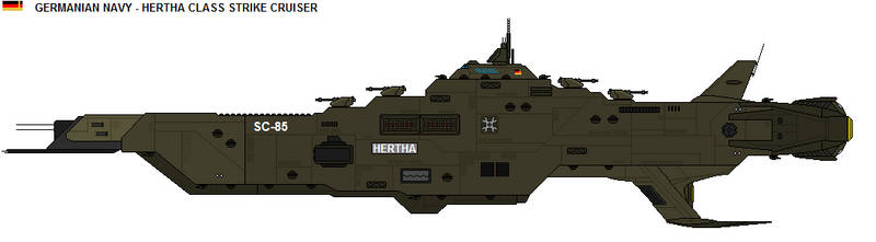 Hertha class - Strike Cruiser by zagoreni010