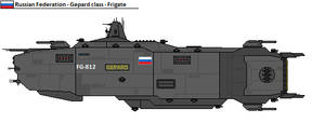 Gepard class frigate
