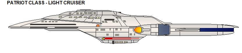 Patriot class - Electronic Warfare Cruiser