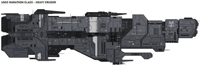 UNSC Marathon class - Heavy Cruiser