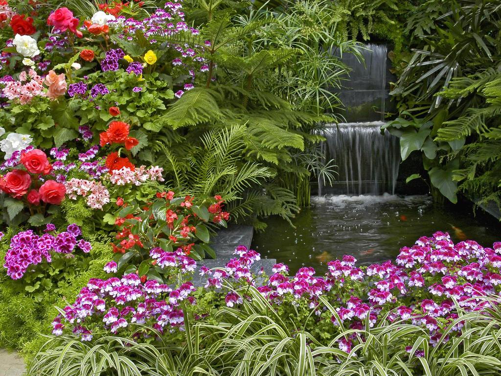 Beautiful garden by tailsfan12345678 on deviantart for Beautiful gardens landscaping