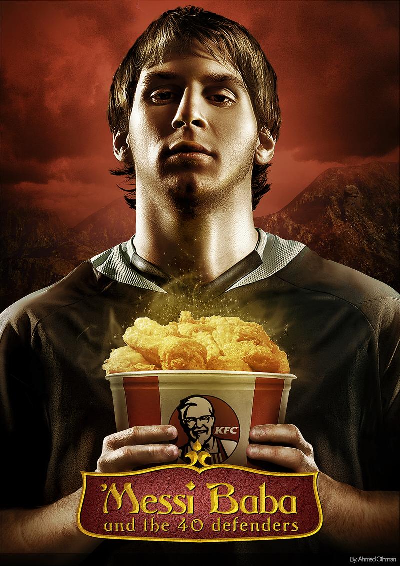 Messi  KFC 3 by serso
