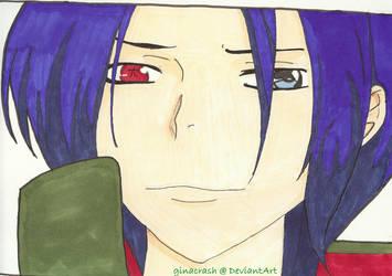 KHR: Mukuro Rokudo by ginacrash