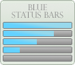Blue Progress Bars by xAliLovex-Resources