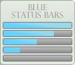 Blue Progress Bars by xAliLovex-Resources