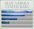 Blue Nebula Progress Bars by xAliLovex-Resources