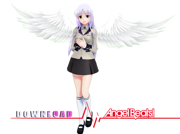 ANGELBEATS - Kanade tachibana Download by AceYoen on DeviantArt