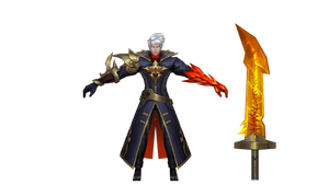 Mobile Legends Alucard Fiery Inferno