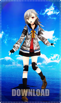 MMD Tina For Download