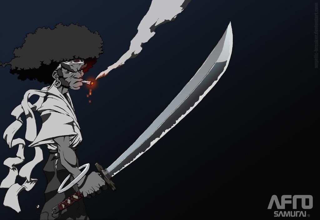 Afro Samurai by Angelic-Breaker