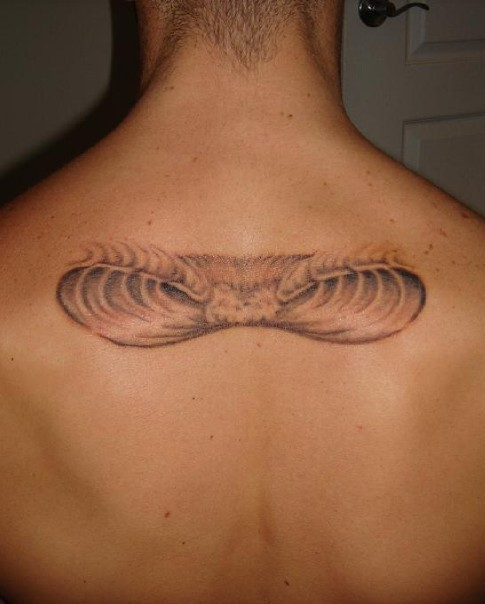 Wave Tattoo, Before cover-up by RideWavesSD