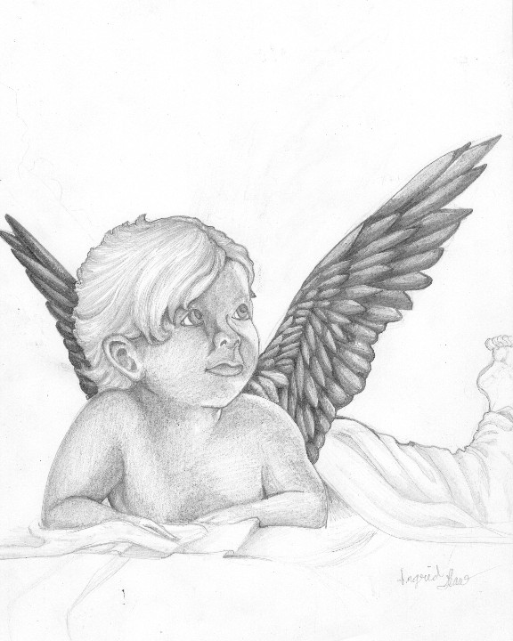 Baby angel by iggygirl