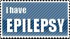 Epilepsy Stamp by AzazelsBrokenHorn