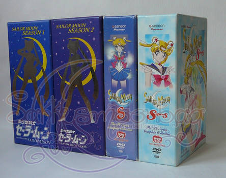 Sailor Moon Anime DVD Box Sets