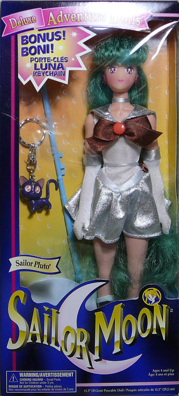 11.5'' Sailor Pluto Doll 1995 SOLD