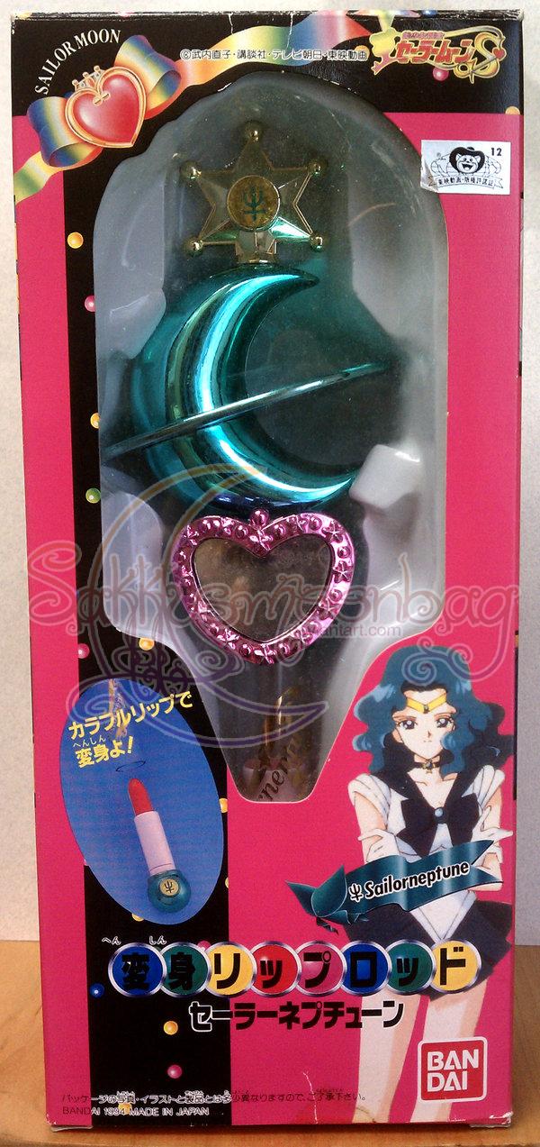 Sailor Neptune Lip Rod by SakkysSailormoonToys