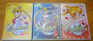 Sailor Moon Movie DVDs