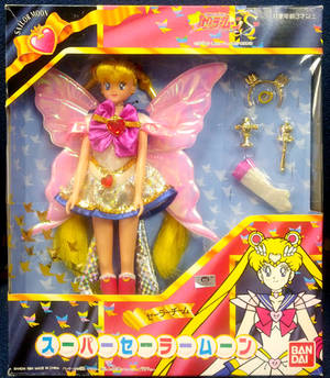 Sailor Team Super Sailor Moon Doll
