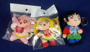 Sailor Moon Keychain Plushies