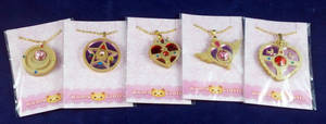 KumaCrafts Brooch Necklaces by SakkysSailormoonToys