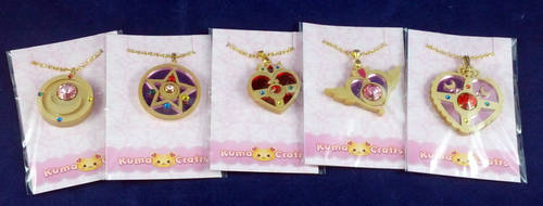 KumaCrafts Brooch Necklaces