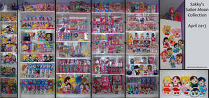 Sakky's Sailor Moon Collection - April 2013